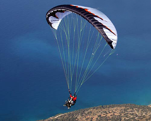 Tandem Paragliding in Lanzarote | Hang glide and Paraglide ...